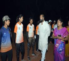 Softball District Level Competition